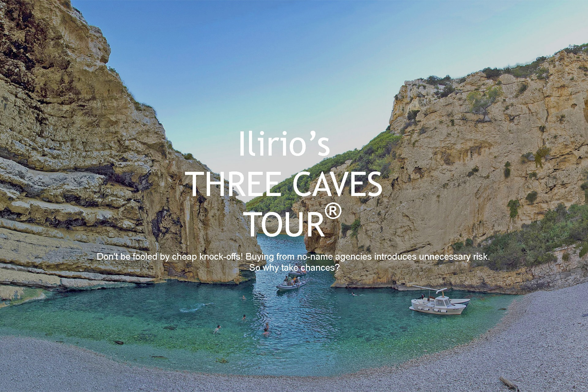 Stiniva cove, Three Caves Tour from Split